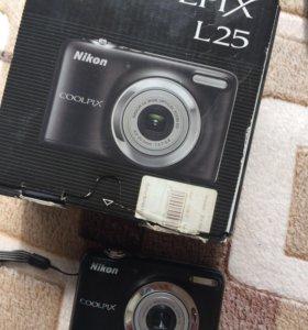 Фотоаппарат Nikon coolpix L-25