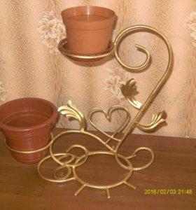 Подставка для цветов (холодная ковка)