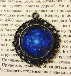 "Кулон и кольцо ""космос"""