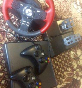 x-box 360 и руль для пк