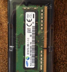 Samsung для ноутбука DDR3L 1.35v 2GB
