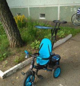 Велосипед трехколесный Icon + подарок
