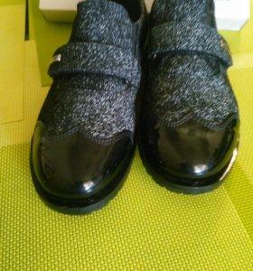 Туфли школьные , со ступинатором