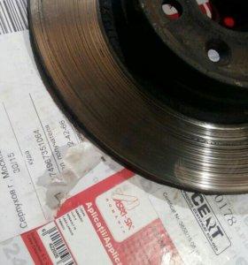 Тормозной диск на рено логан