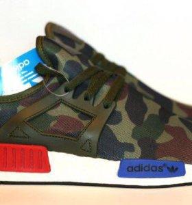 Хитовые кроссовки Adidas NMD Army