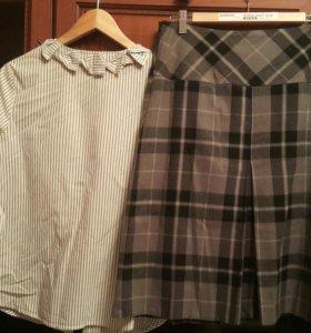 Блуза, юбка