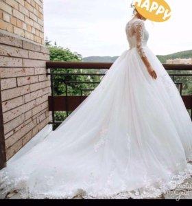 Свадебное платье для принцессы 42 размер