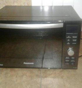 Микроволновая печь гриль печь