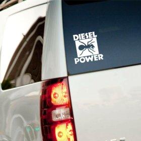 Виниловая наклейка Diesel power