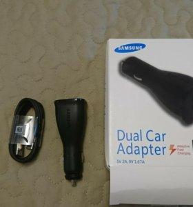 Автомобильный зарядник Samsung