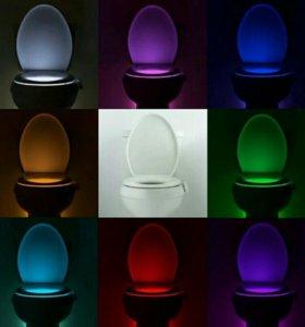Сенсорная подсветка для унитаза