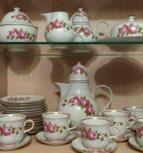 Чайно-кофейный сервиз Henneberg porzellan