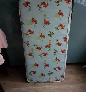 СРОЧНО Матрас в детскую кровать 60х120