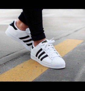 Кроссовки Adidas Superstar 36,37,38,39,40,41