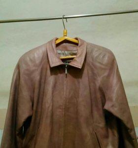 Куртка кожаная большого размера не дорого