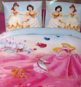 Детское постельное белье для девочки,3D print.