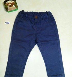 Летние брюки для мальчика, рост 68-74