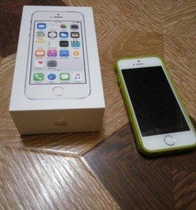 Iphone 5s (silver)16gb срочно!!!
