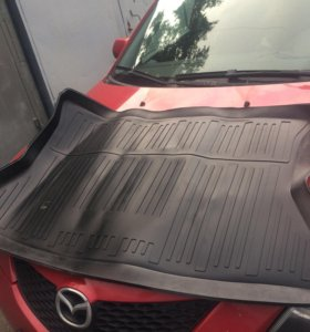 Новый Коврик Kia Rio в багажник хэтчбек