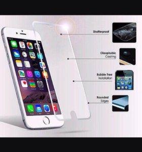 Бронестекло айфон любой модели