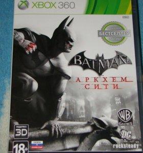 Batman Архем Сити для Xbox 360 лицензия