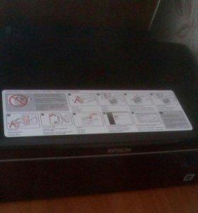 МФУ Epson L200 принтер сканер копир 3в1