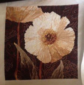 Вышивки цветы