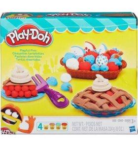 Пластилин Плейдо Play-Doh Ягодные Тарталетки