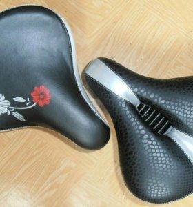 Вело седло (сиденье, сидение) мягкое, комфортное