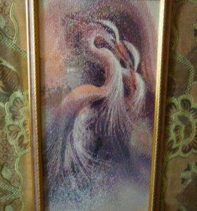 #Цапли#Алмазная#мозаика#вышивка#Картина