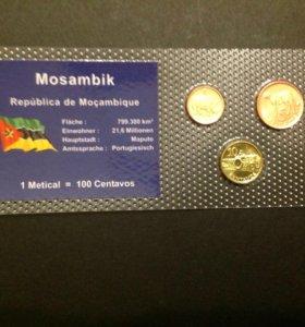 Монеты набор Мозамбик, UNC