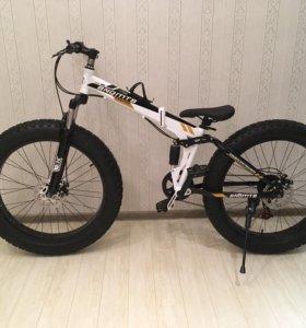 Фетбайк, складной велосипед