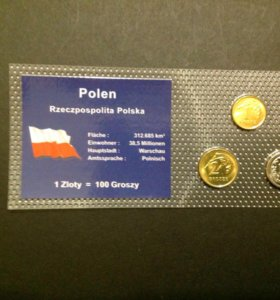 Монеты набор Польша, UNC