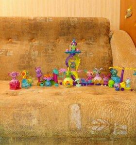 игрушки зублс (zoobles)