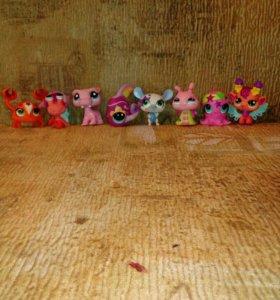 "игрушки из ""Little Pets' Shop"" (LPS)"