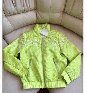 Новая куртка рост 160