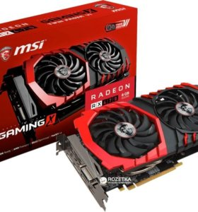 Видеокарта MSI Radeon RX 470 GAMING X 8G 8GB
