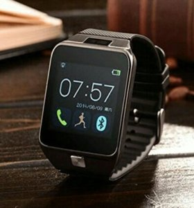 Умные смарт часы smart watch dz09 seria S black