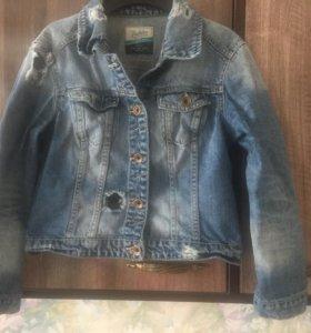 Джинсовая куртка Zara, размер М