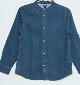 Новая Рубашка на мальчика, 140-146