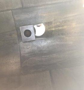 Резервуар биметаллический. Нерж/сталь. Объём 40м3.