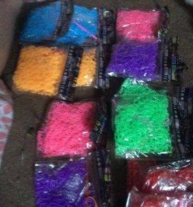 Резинки для плетения.