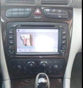 Продам автомагнитолу Mercedes w203