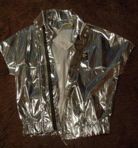 Новая серебрянная курточка!!