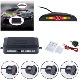 Новый парковочный радар Parking Sensor, 4 датчика
