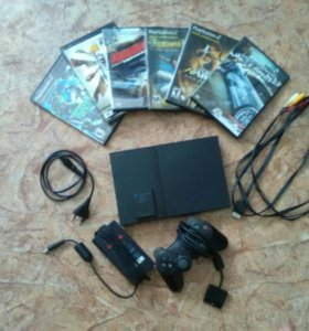 Sony PlayStation 2+Карта памяти на 8МВ