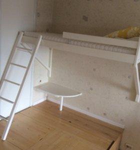 Подвесная кровать ikea