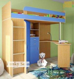 Кровать-стол-шкаф