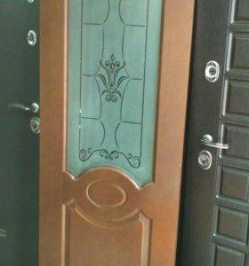 Дверь Селена со стенда шпон