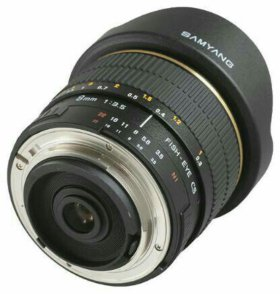 Samyang 8mm f/3.5 Fish-eye CS AE Nikon F